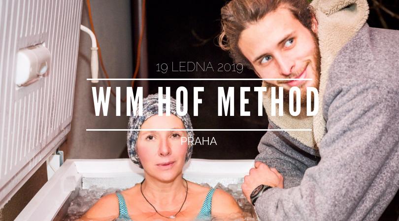 19 LEDNA 2019 Praha - workshop Wim Hof Method, Martin Thám
