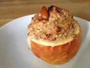 Pečené jablko s mandeládou podle metabolic balance® - řešení při alergii na jablka