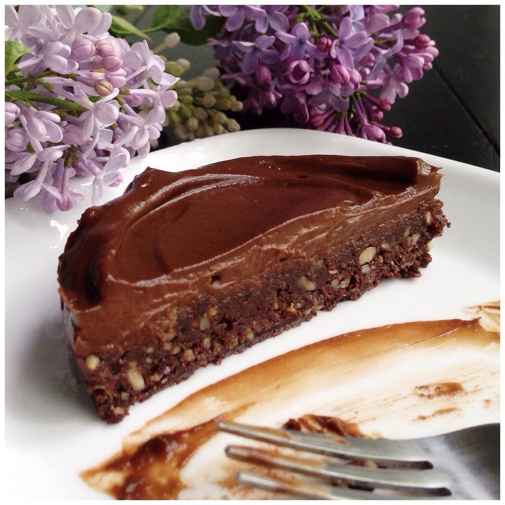 raw brownies s avokádovým krémem podle metabolic balance