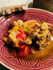 Baskické kuře - recepty na hubnutí