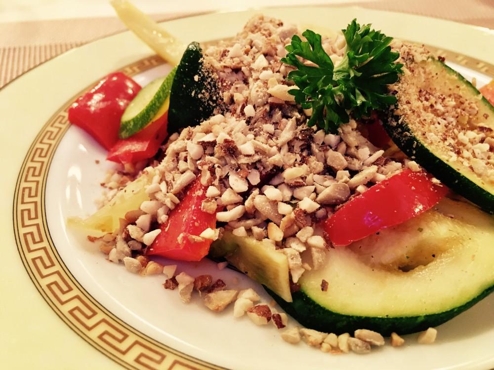 Mandeláda s teplou zeleninou podle metabolic balance®