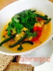Metabolic balance kari po thajsku - fazole Borlotti a zelenina