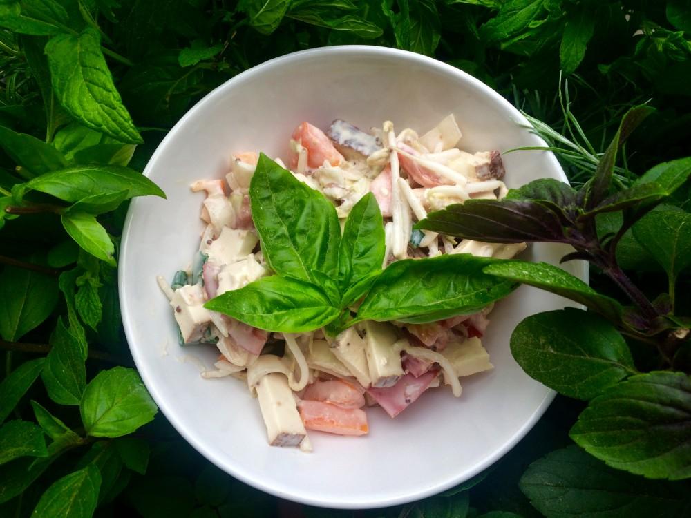 Tofu salát se zeleninou - metabolic balance
