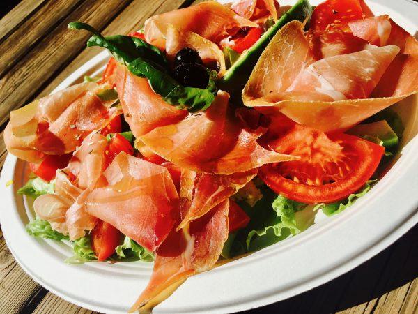Prosciutto se zeleninou - metabolic balance snídaně, oběd či večeře