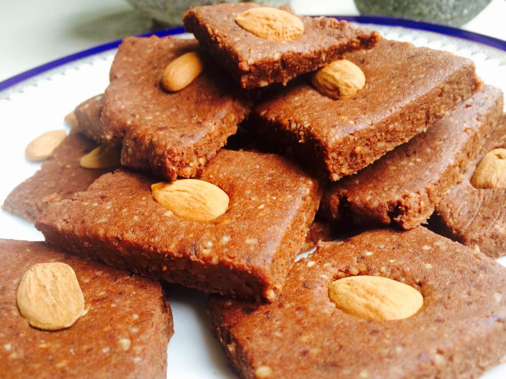 RAW brownies z mandelády podle metabolic balance
