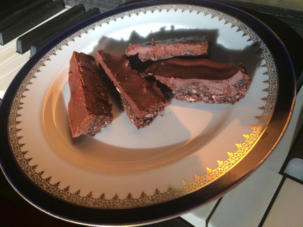 čokoládové brownies s chill a zázvorem podle metabolic balance