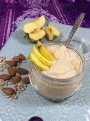 Mandeláda s jablkem | recepty metabolic balance® - mandle, slunečnicová semínka a jablko