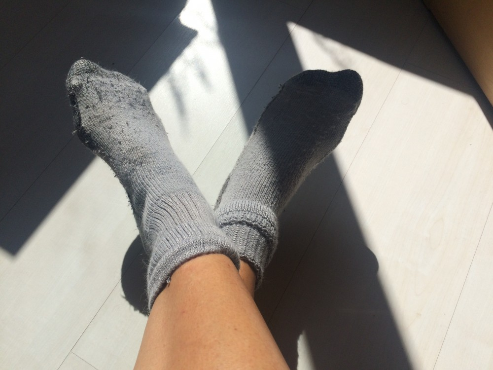 Ponožky mi při zimomřivosti taky nepomohly!