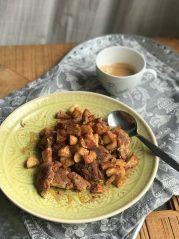 Jablečný trhanec z žitné mouky - recepty na hubnutí, metabolic balance2