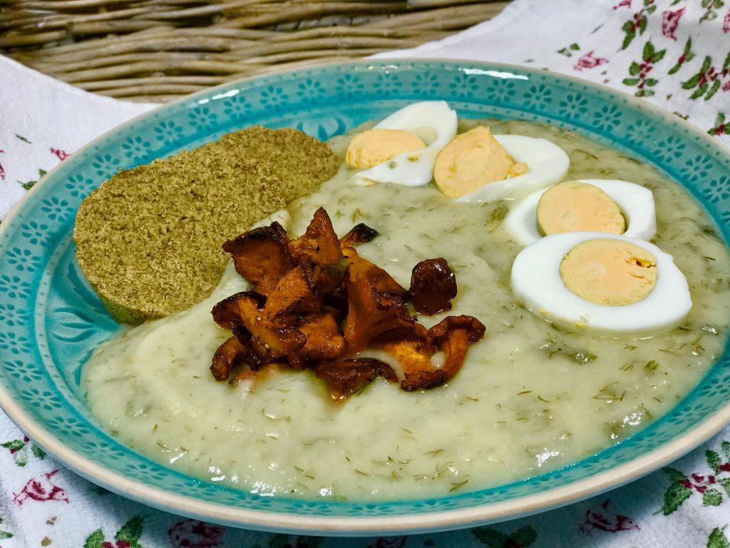Koprová omáčka z patizonu, knedlík z žitné mouky - recepty pro hubnutí a zdravý metabolizmus, program Metabolic Balance1