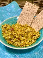 Pomazánka z drůbeže s řapíkatým celerem, cibulkou a mrkví - recepty Metabolic Balance. hubnutí, zdravý metabolizmus