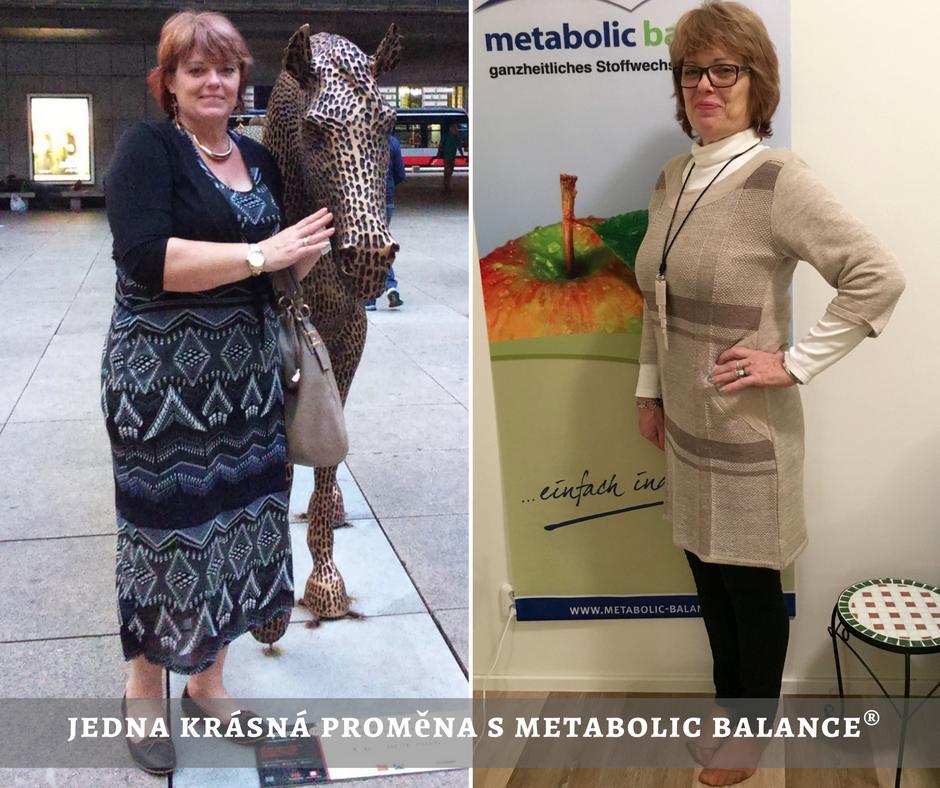 Proměna s Metabolic balance®Proměna s Metabolic balance®
