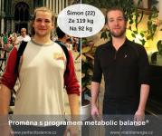 Díky metabolic balance® zhubl 27 kg za 4 měsíce