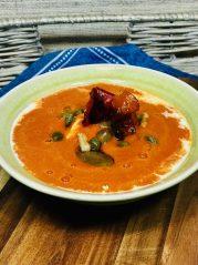 Rajčatová polévka s pečenými paprikami - Metabolic Balance