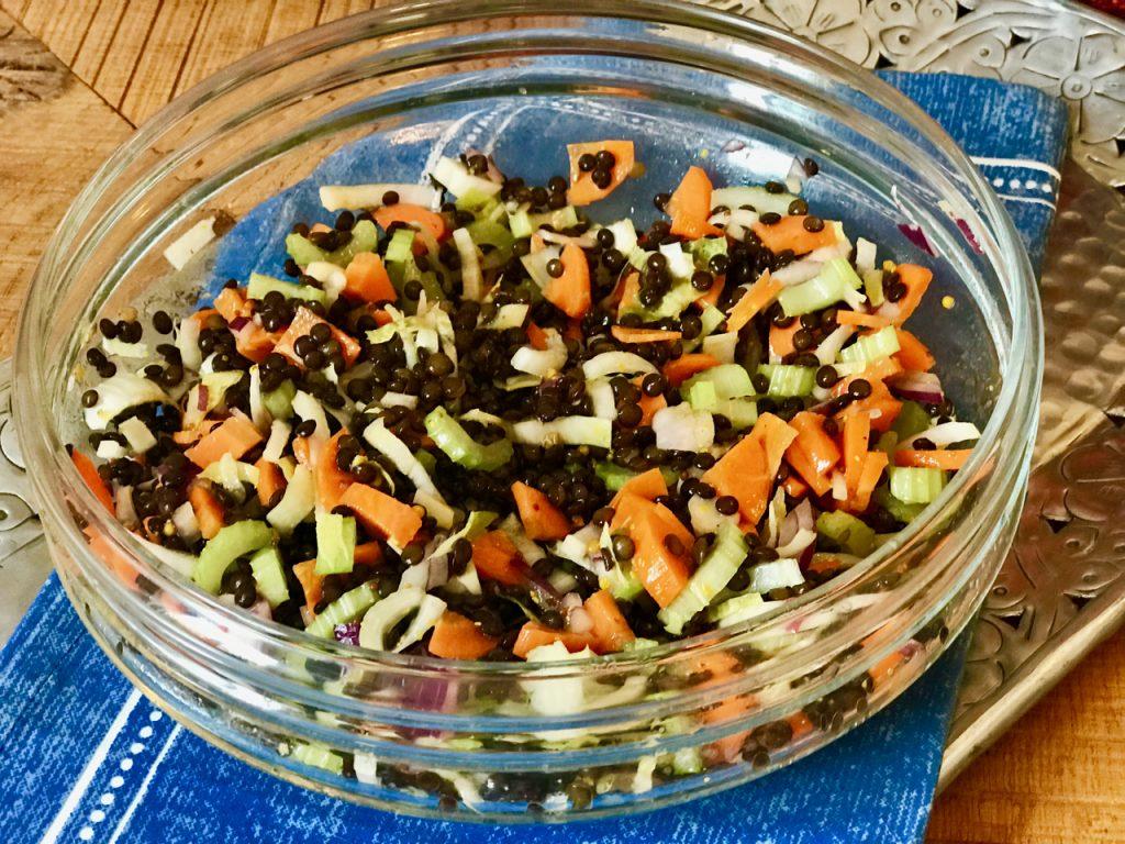 Recepty Metabolic balance - čočkový salát