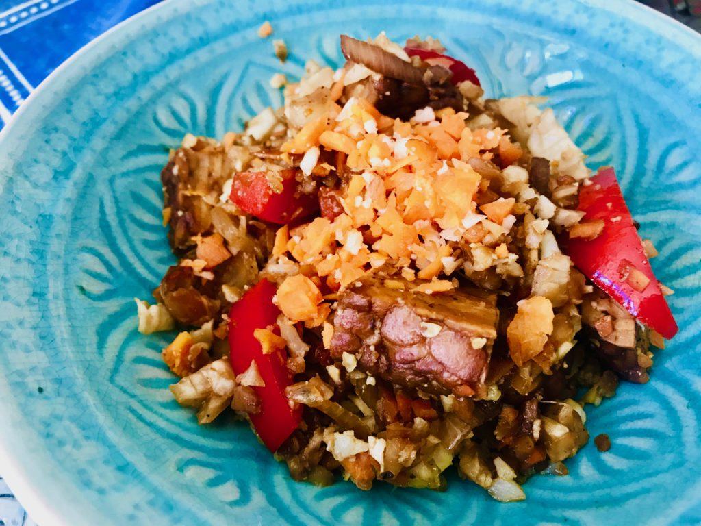 Tempeh s květákovou rýží po asijsku-recepty Metabolic Balance