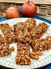 Tyčinky z mandelády a jablka podle Metabolic Balance