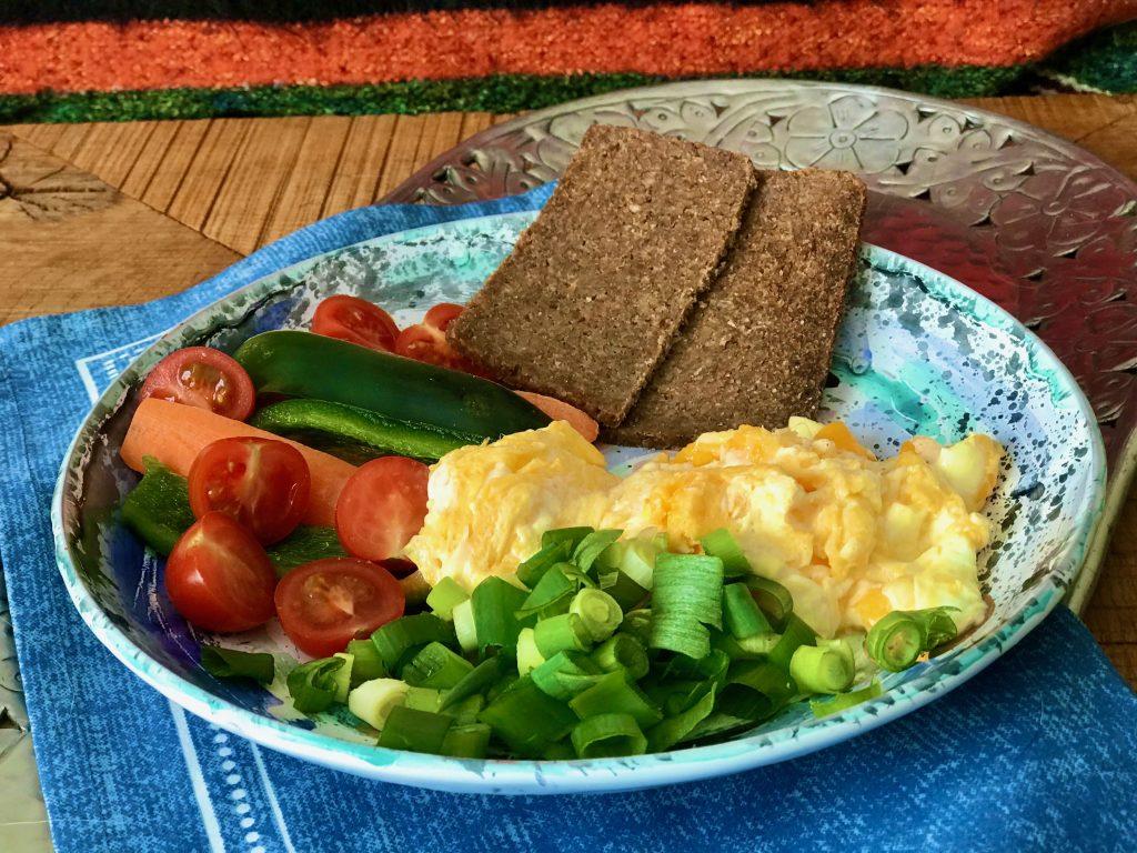Vajíčka se zeleninovou oblohou - recepty na hubnutí, recepty Metabolic Balance