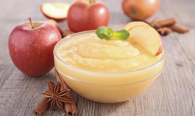 Jablečné pyré bez cukru podle metabolic balance® - skvělé řešení při alergiích na jabllka