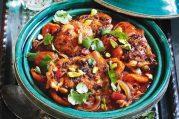 Chermoula, kuře, zelenina podle metabolic balance