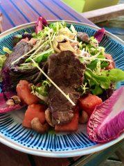 Salát s hovězí masem a papájou - recepty na hubnutí, Metabolic Balance