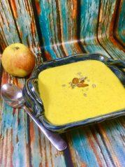 Zeleninový krém s mandeládou - zahřívací snídaně pro hubnutí, zdravý metabolizmus a extra energii podle unikátního stravovacího programu metabolic balance®
