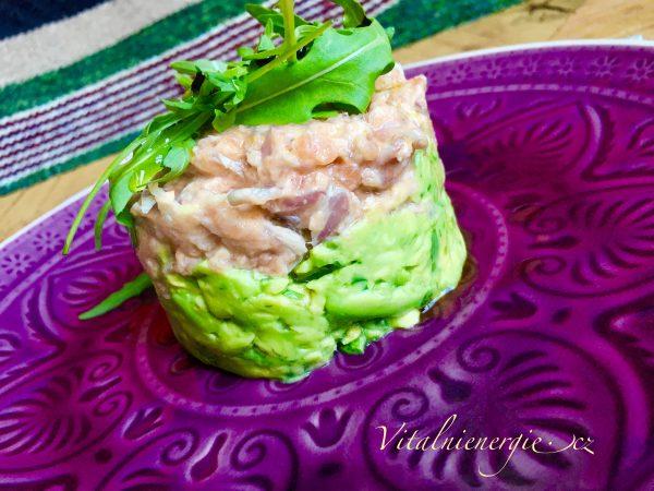 Tatarák z lososa a avokáda | metabolic balance