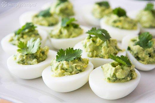 guacamole s vejcem podle metabolic balance