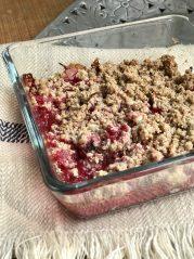 Ovocný krambl - zdravé recepty, hubnutí, program Metabolic Balance