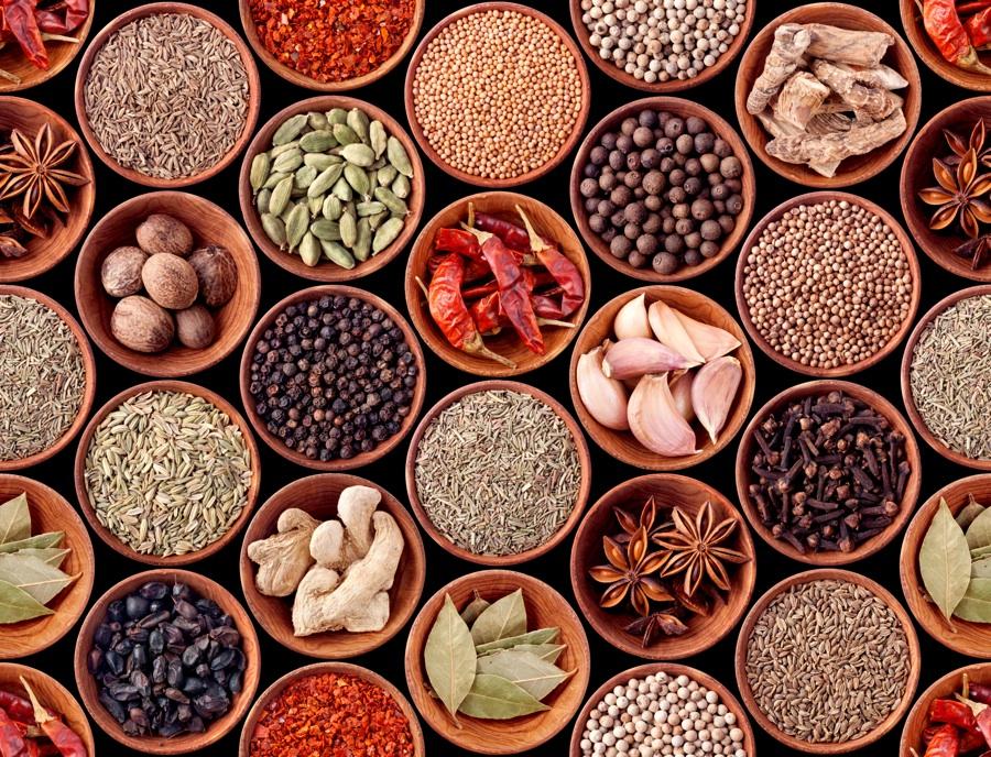 Koření a bylinky v metbolic balance